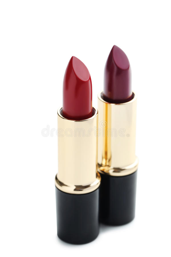 lipsticks photographie stock