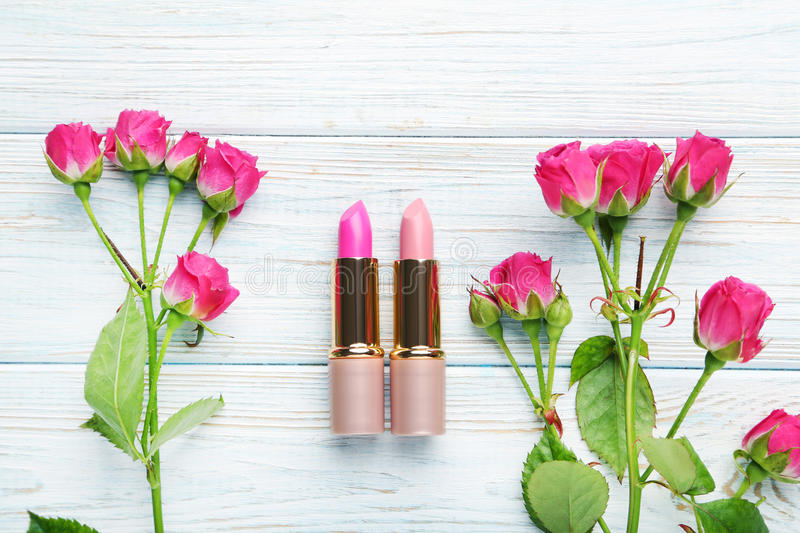 lipsticks image stock