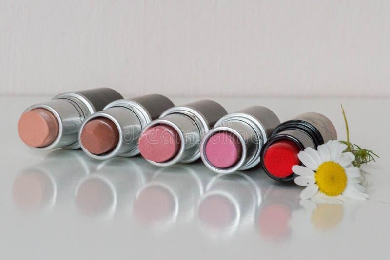 lipsticks image libre de droits