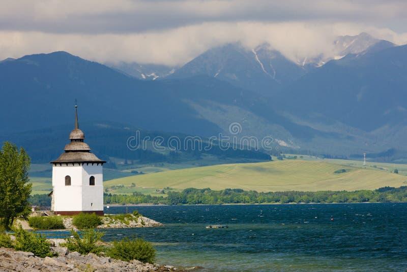 Liptovska Mara, Slovakia stock image