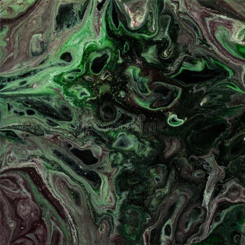 Liquid aliens vector illustration
