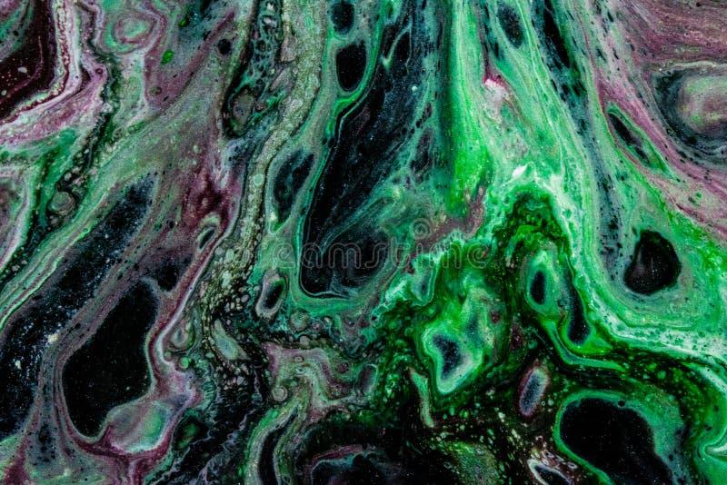 Liquid aliens 4 stock illustration