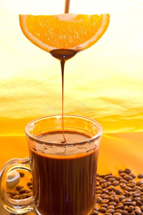 Liquid chocolate stock photos