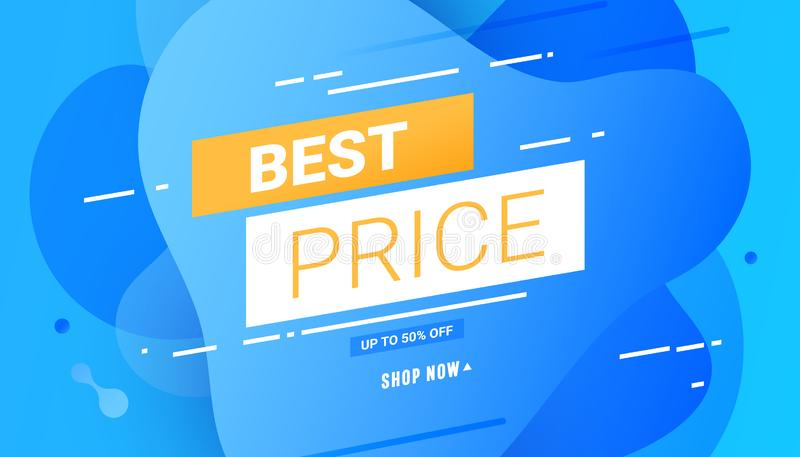 Best Price Labels, discounts up to 50 off vector illustration