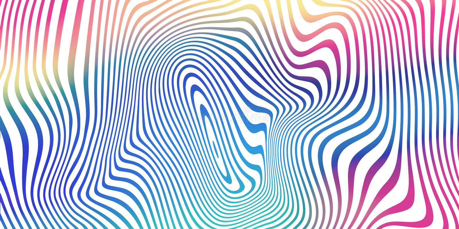 Liquid color blend background, holographic iridescent stripes pattern. Vector abstract fluid color gradient background vector illustration