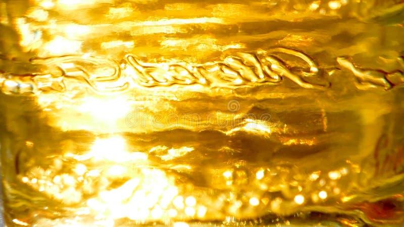 Liquid gold background royalty free stock image