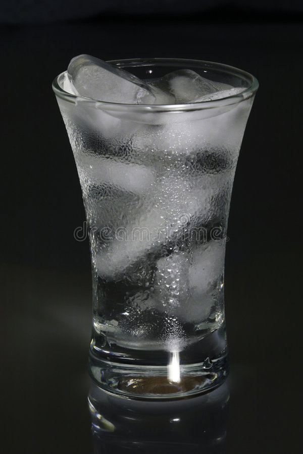 Liquid and Ice. royalty free stock photography