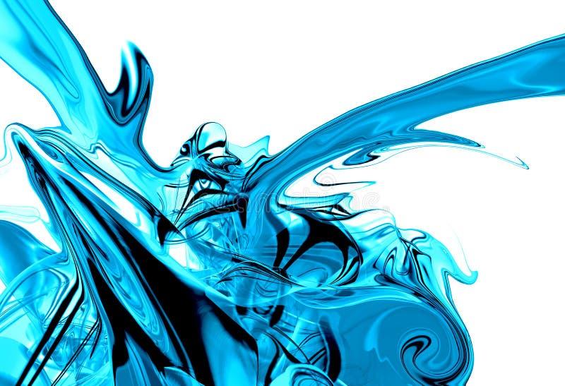 Download Liquid ice splash graphic stock illustration. Image of shapes - 3302980