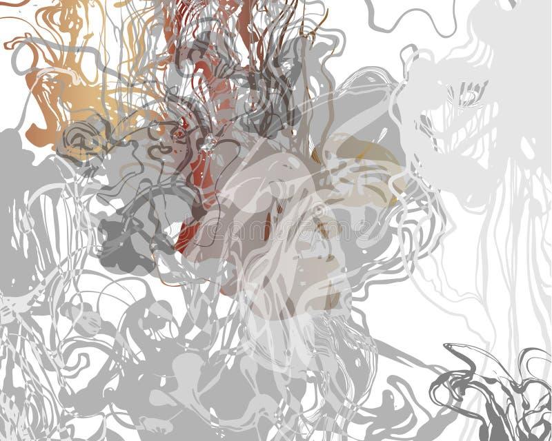 Liquid ink background.