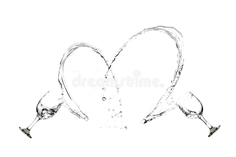 Liquid Love royalty free stock photography