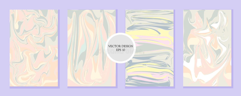 Liquid Marble Texture Design vector illustration