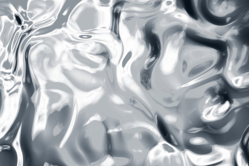 Liquid silver. Good background or texture