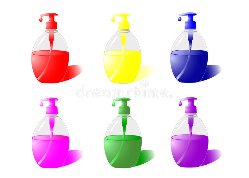 Liquid Soap Stock Photo