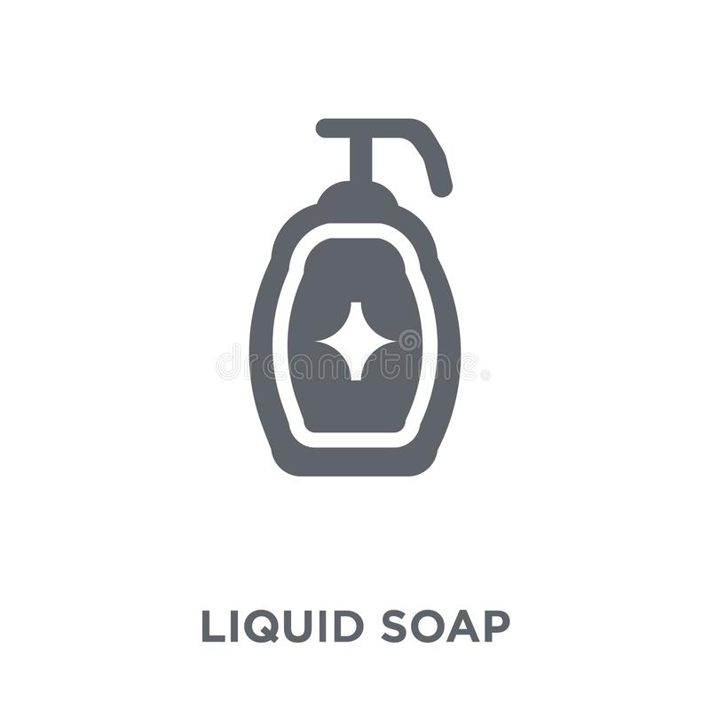 Liquid soap icon from collection. royalty free illustration