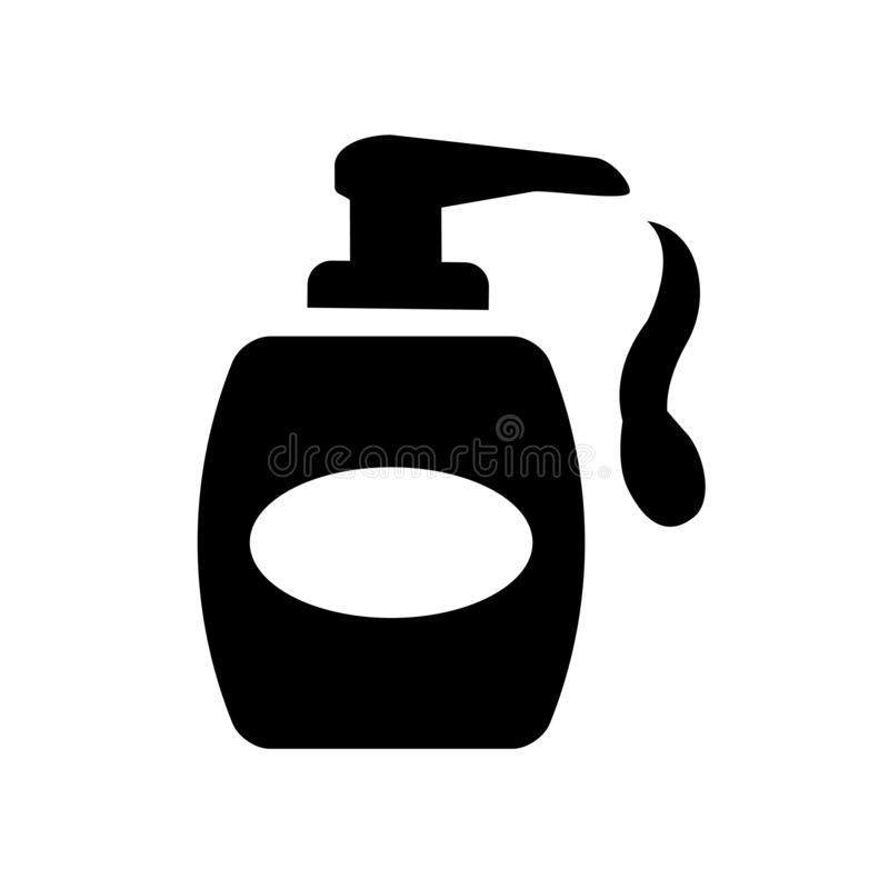 Liquid soap icon. Trendy Liquid soap logo concept on white background from Hygiene collection royalty free illustration