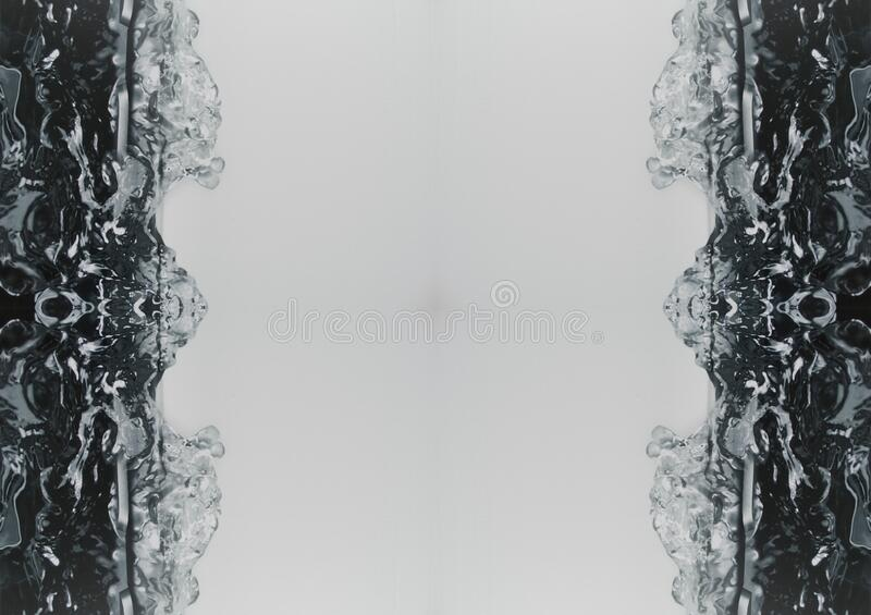 Liquid Water Splash es Abstract Art Background royalty free stock photo
