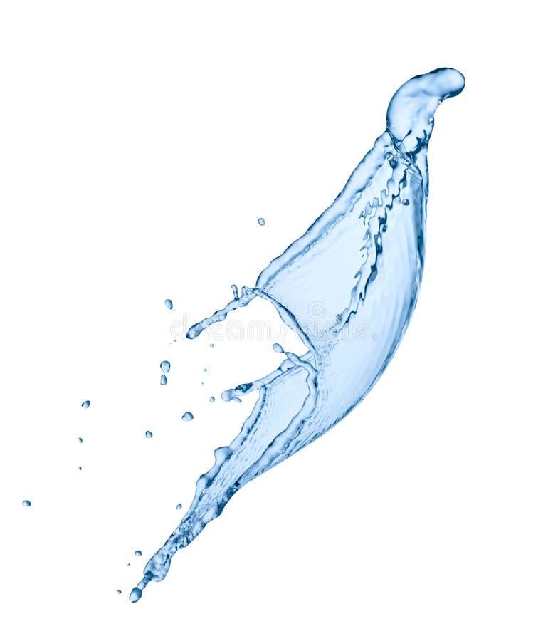Liquide d'éclaboussure de l'eau photo libre de droits