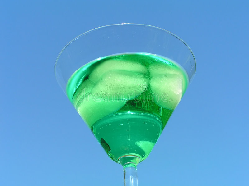 Liquide vert photo stock