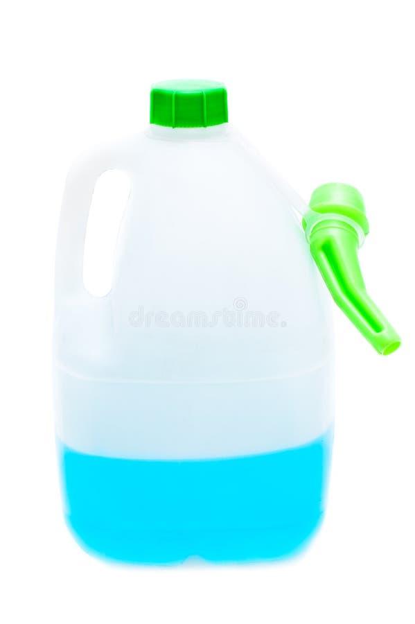Liquido della rondella del parabrezza fotografie stock