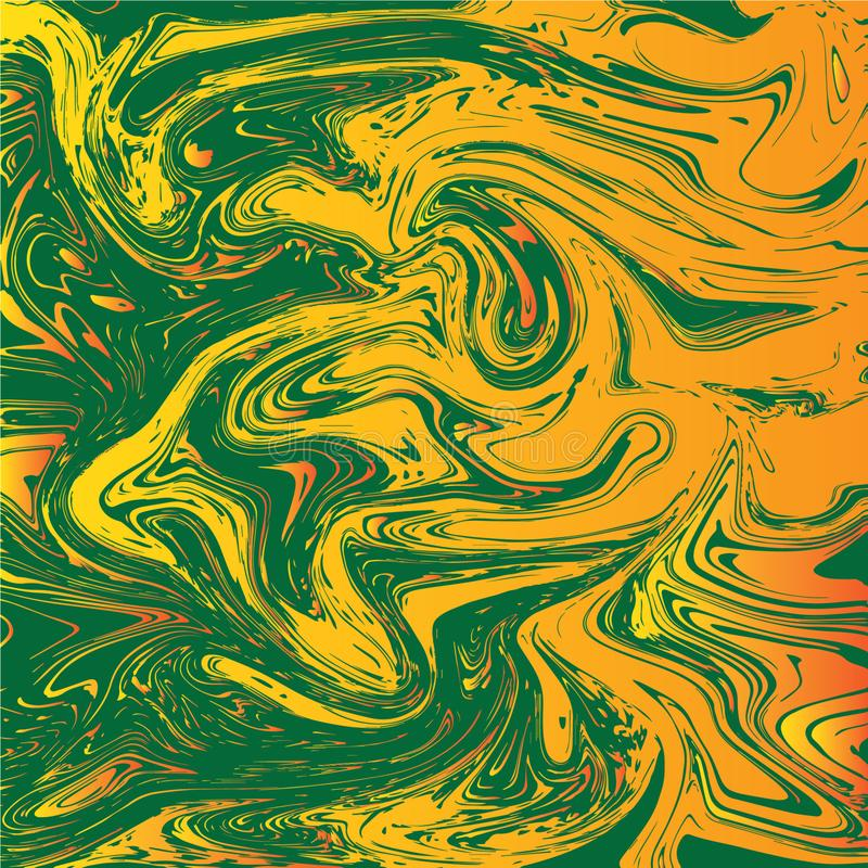 COLORFUL LIQUIFY ABSTRACT BACKGROUND VECTOR vector illustration