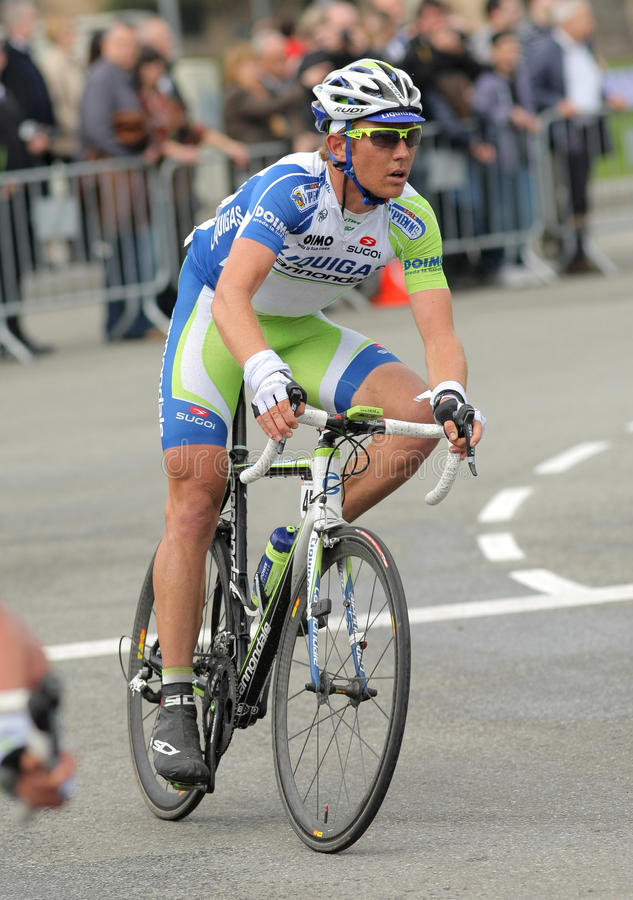 Download Liquigas Cannondale Cyclist Cameron Wurf Editorial Stock Photo - Image: 19156618