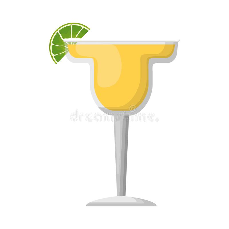 Liquore della bevanda del cocktail illustrazione di stock
