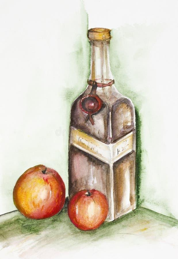Liquore di Apple illustrazione di stock