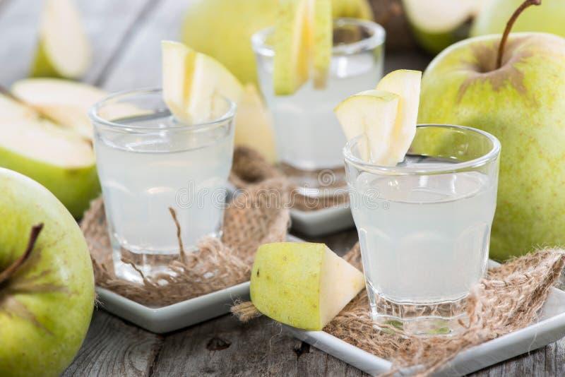 Liquore di Apple immagine stock libera da diritti
