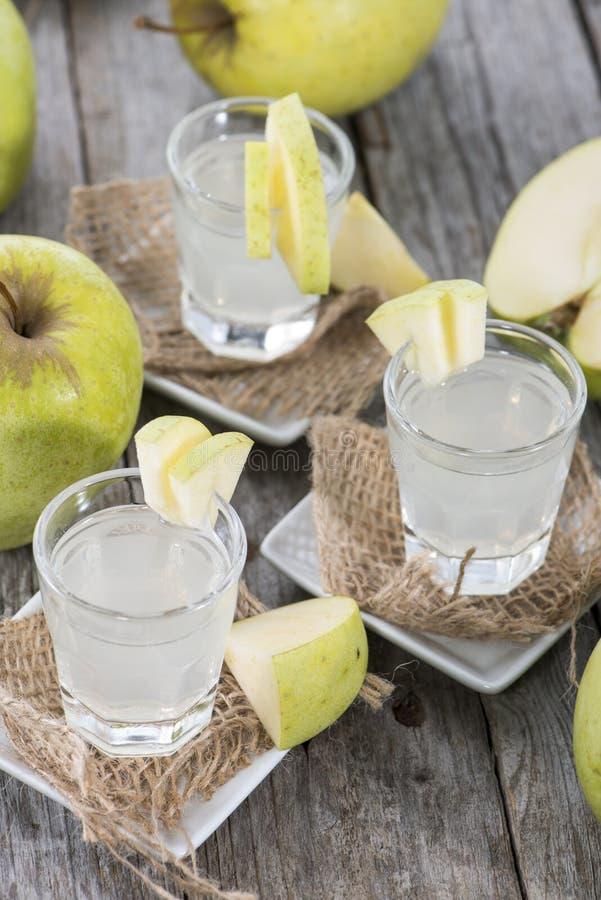 Liquore fatto fresco di Apple immagine stock libera da diritti