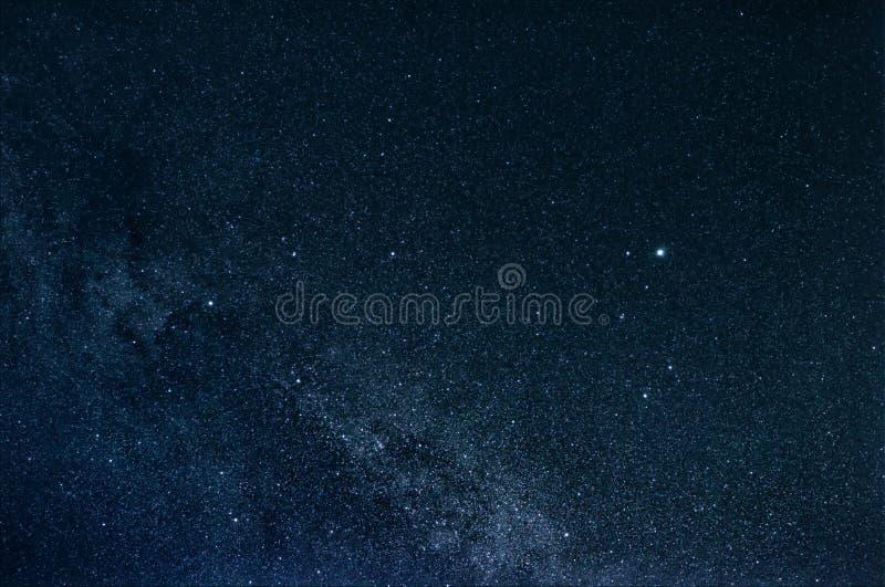 Lira e Via Látea da constelação fotos de stock royalty free
