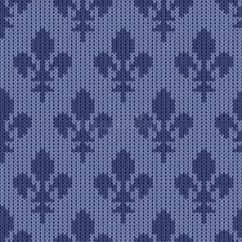Lirio de la casa francesa de Borbón en un fondo del azul del vintage libre illustration