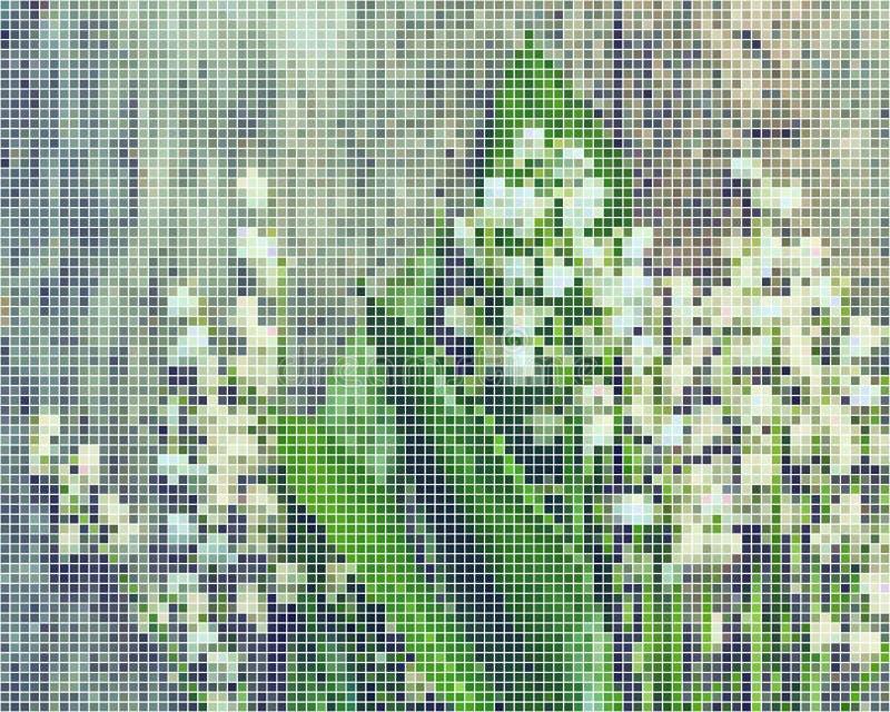 Lirios de mayo del valle en raphics del vector stock de ilustración