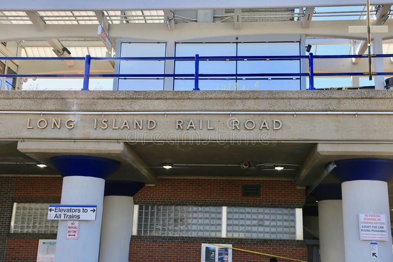 LIRR station stock photography