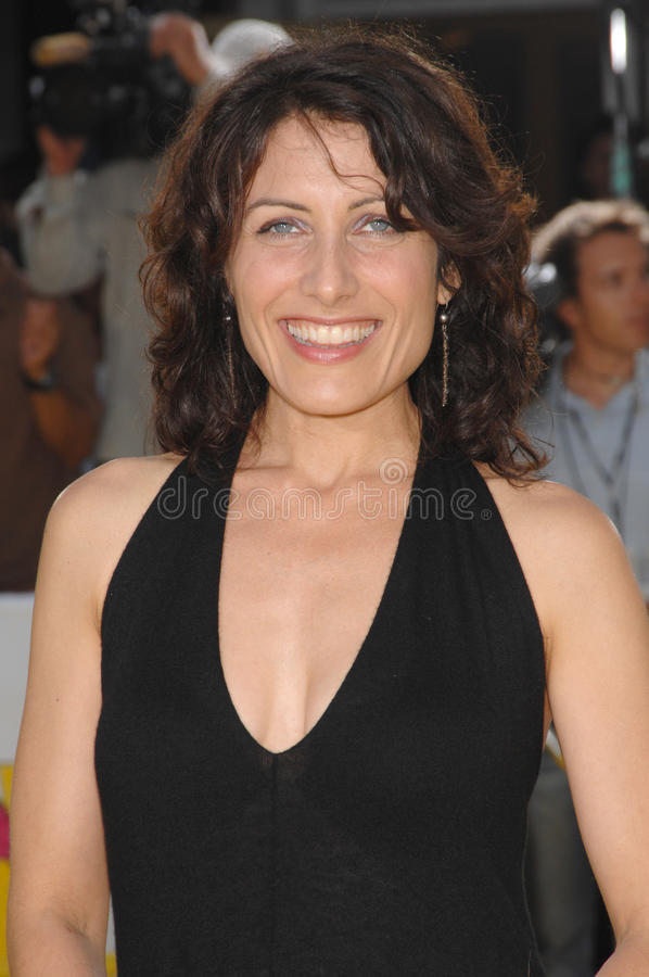Lisa Edelstein, The Simpsons Editorial Stock Image