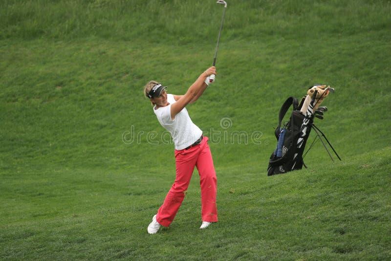 lisa för 2007 europeisk golfkorridordamtoalett losone royaltyfri bild
