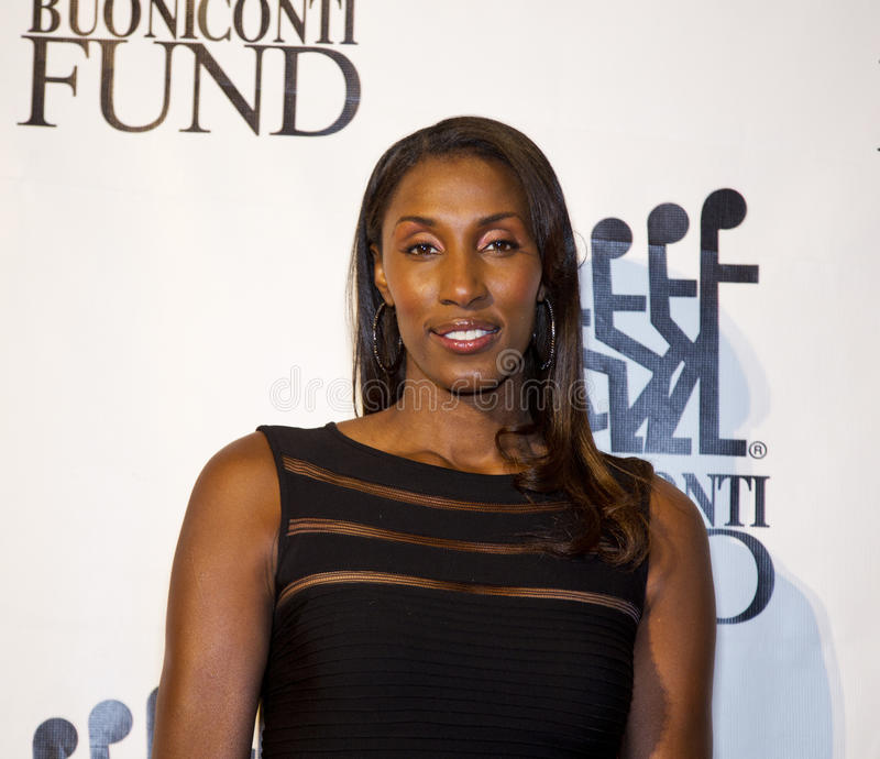 Lisa Leslie royalty free stock image