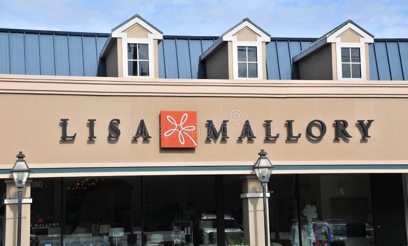 Lisa Mallory Interior Design Showroom immagine stock libera da diritti