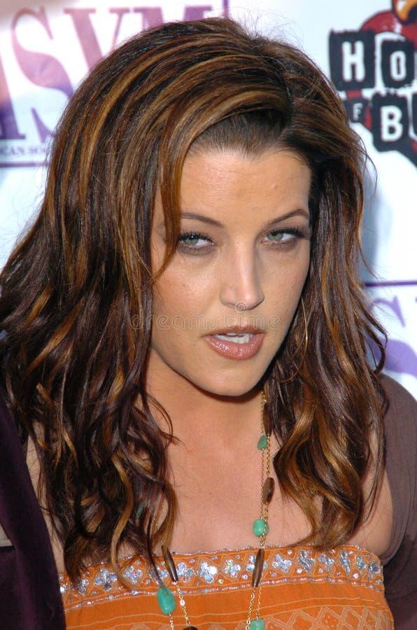 Lisa Marie Presley stock foto