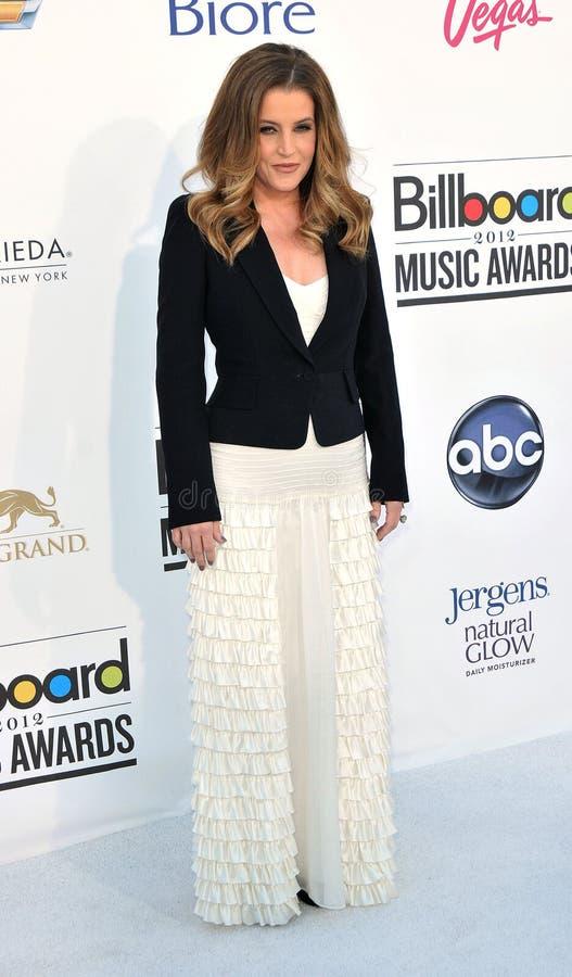 Download Lisa Marie Presley Arrives At The 2012 Billboard Awards Editorial Stock Image - Image of presley, awards: 25274944