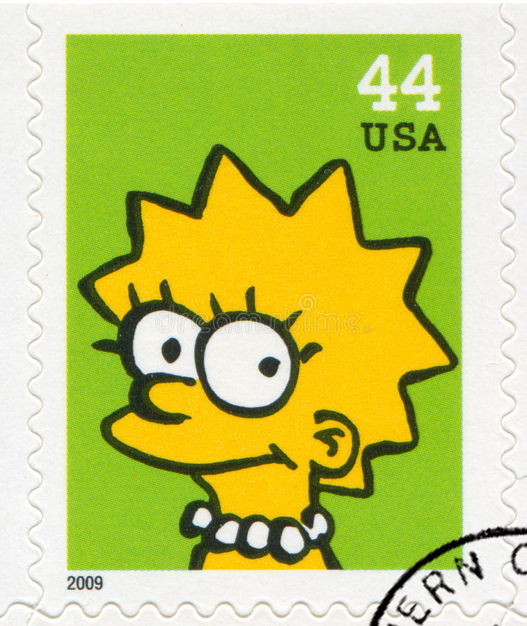 Download Lisa Marie Simpson editorial stock image. Image of america - 90732489