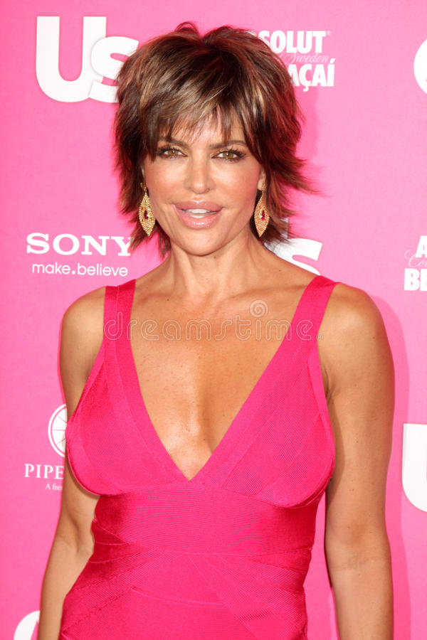 Download Lisa Rinna editorial stock image. Image of angeles, hollywood - 20327319