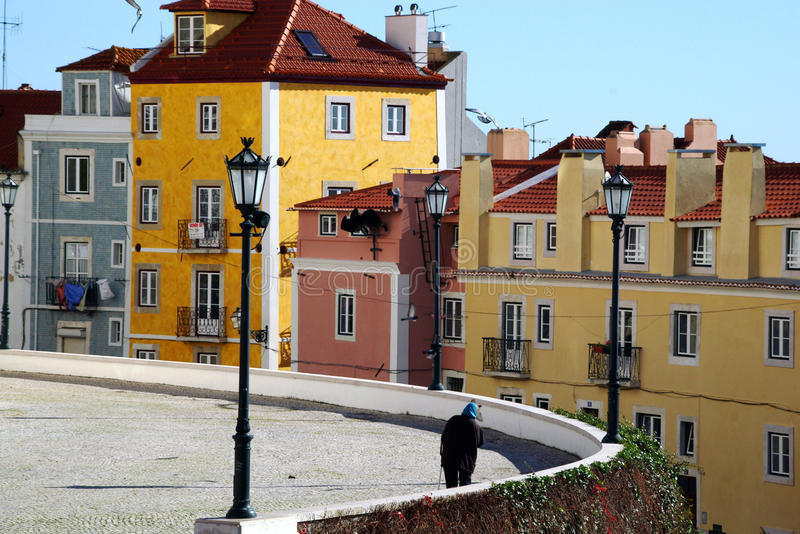Lisboa corner royalty free stock photo