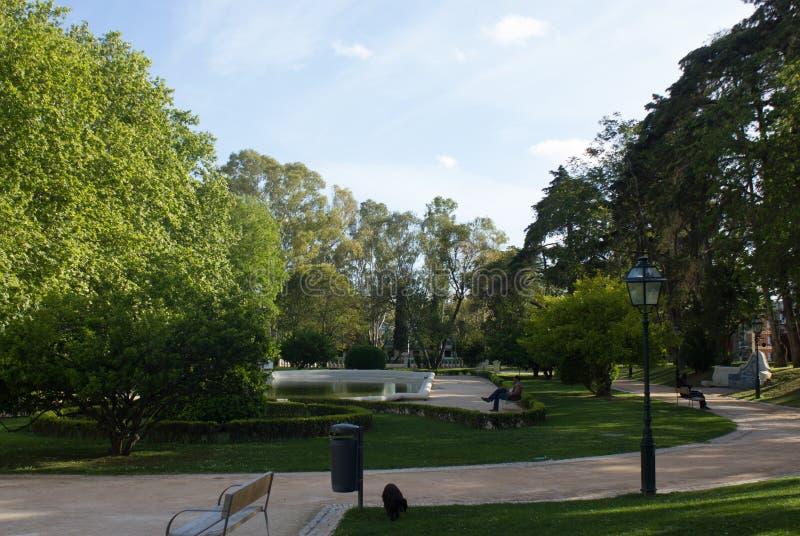 Lisboa, Lisboa, Lisboa velha, Santa Clara Park, na vila de Ameixoeira, Lisboa, Portugal foto de stock royalty free