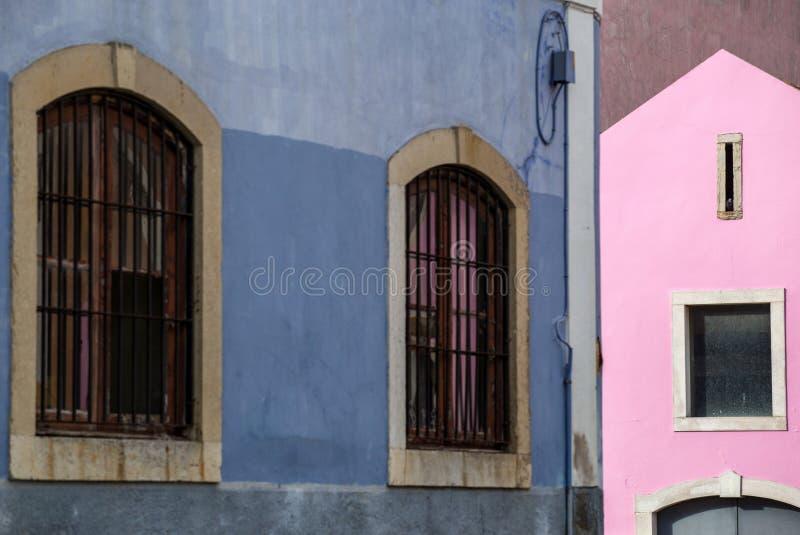 Lisboa, Lissabon - Windows in Belem stock afbeeldingen