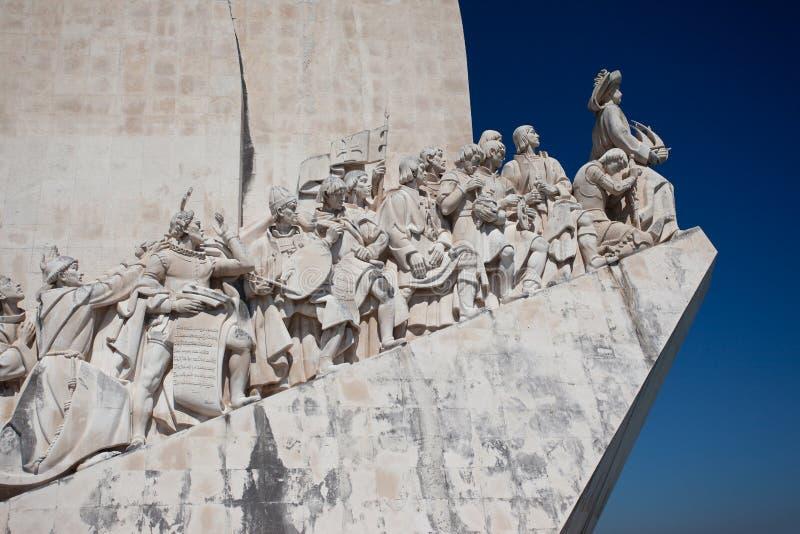 Lisboa - monumento às descobertas imagens de stock