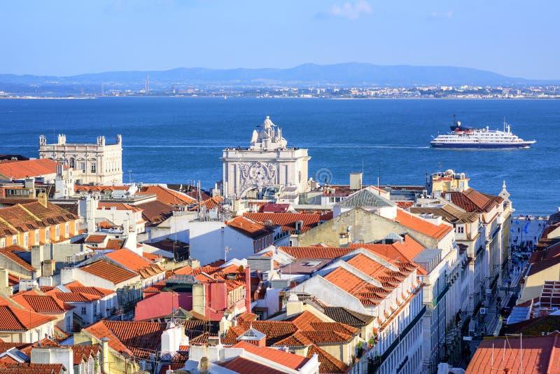 Lisboa, Portugal fotografia de stock