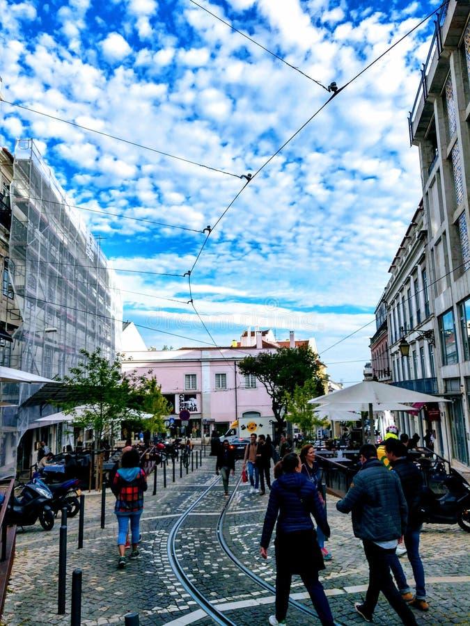 Lisboa Portugalia fotografia royalty free