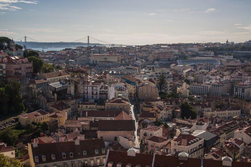 Lisboa Skyline stock photography