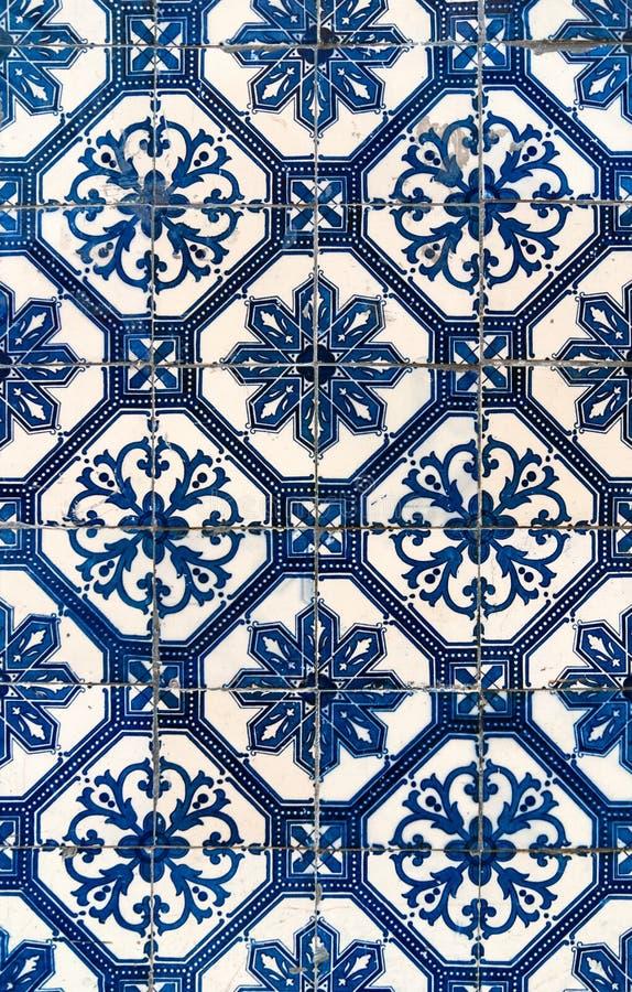 Lisbon azulejor detail, Portugal stock photo