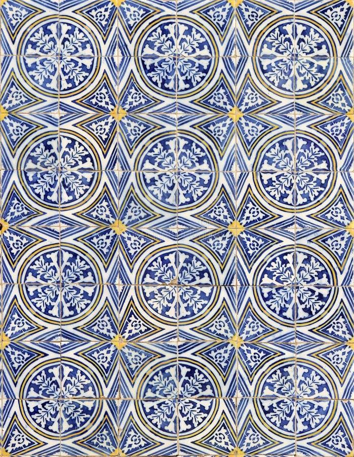 Lisbon azulejos royaltyfri foto